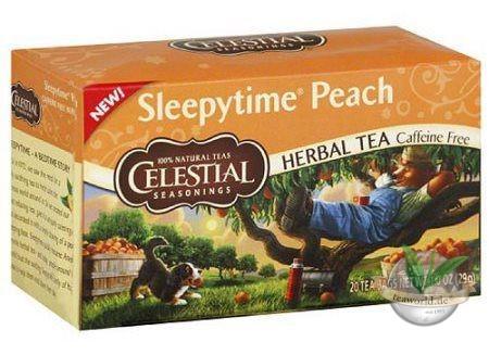 Sleepytime Peach - 20 Teebeutel - Celestial Seasonings Tee