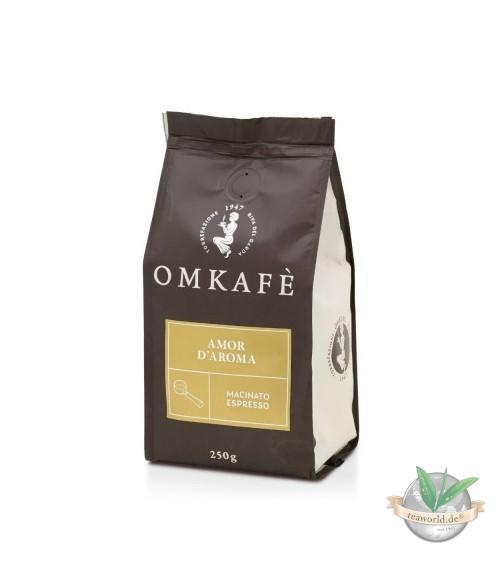 Omkafe Macinato Espresso - AMOR D'AROMA - gemahlen 250g