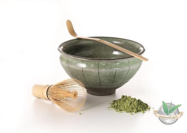 """Matcha Set """"Akemi"""" Keramik, 3 teilig Schale: 0,22 l"""