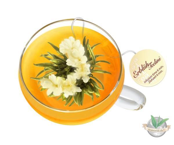Erblüh Teelini 8er Box - weißer Tee von der Creano GmbH