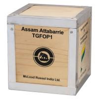 Assam Attabarrie TGFOP1 - schwarzer Tee in der 1kg Holzkiste