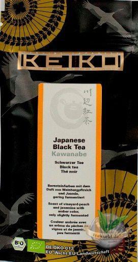 Bio Japanese Black Tea Kawanabe - Keiko Black Tea