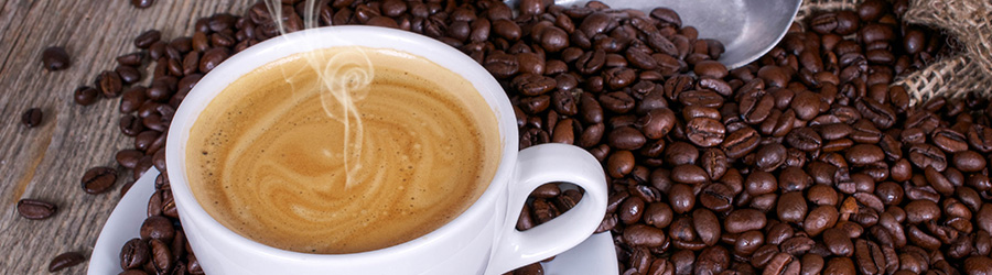 Banner-Image Kaffee Bohnen