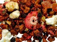 Erdbeer Popcorn milder Früchtetee
