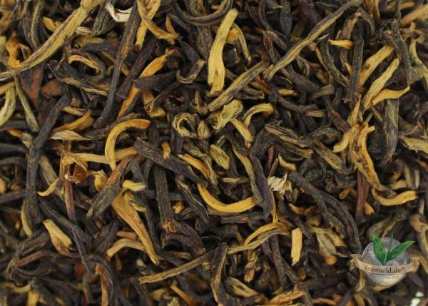 Bio China Dongzhai Golden Tips - Schwarzer Tee