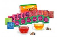 34 Pyramiden-Teebeutel Früchtetee und Kräutertee Probierset