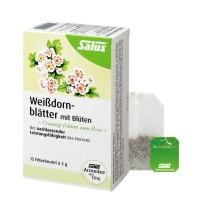Bio Weißdornblätter mit Blüten - Salus® - 15 Filterbeutel - Arzneitee