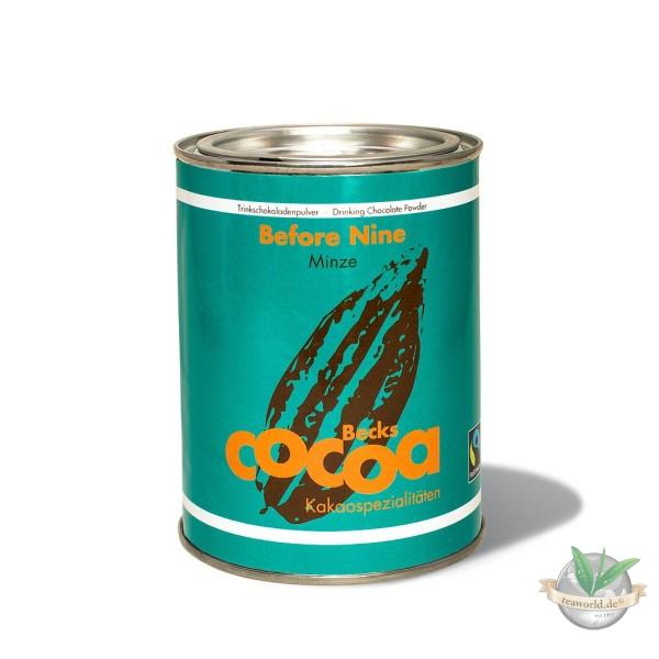 Before Nine Kakao - mit Minze - Becks Cocoa 250g